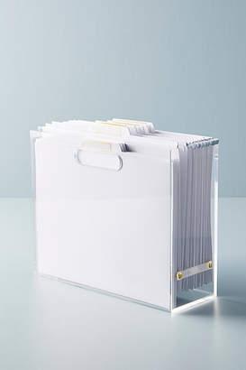 Russell + Hazel Russell+Hazel Acrylic File Box