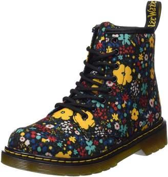 Dr. Martens Junior Black Delaney Boots-UK 2