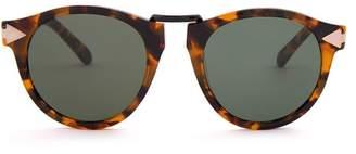 Karen Walker Helter Skelter Sunglasses - Womens - Tortoiseshell