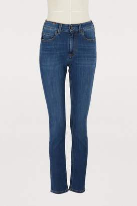 Atelier Notify Bamboo skinny high-waisted jeans