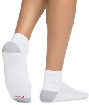 Hanes Men's Ankle Socks, 10-Pack
