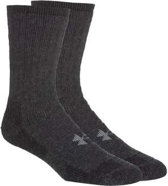 Under Armour Two Pair Boot Crew Socks - Men's