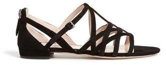 Miu Miu Caged Leather Sandal