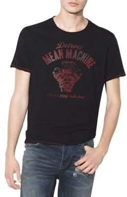 John Varvatos Mean Machine Graphic Cotton T-Shirt