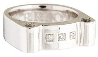 Charriol Sterling Silver Diamond Ring