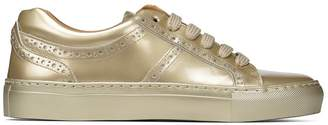 Donald J Pliner ANNE, Metallic Leather Sneaker