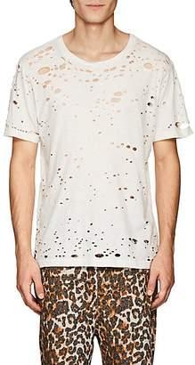 NSF Men's Elliot Distressed Cotton T-Shirt - White