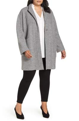 Fleurette Teddy Wool Coat