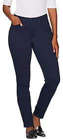 Martha Stewart Regular Peached Twill 5-PocketAnkle Pants