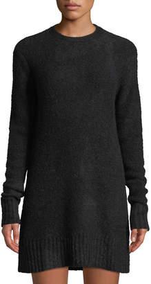 Ash Lovers And Friends Drape-Back Mini Sweater Dress