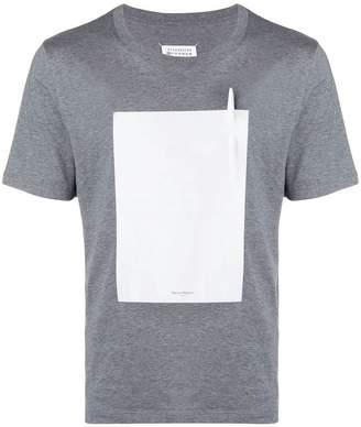 Maison Margiela pen graphic patch T-shirt