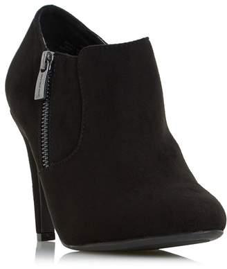 Head Over Heels by Dune - Black 'Olisa' High Stiletto Heel Ankle Boot