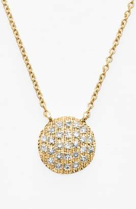 Ralph Lauren Dana Rebecca Designs 'Lauren Joy' Diamond Disc Pendant Necklace