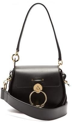 Chloé Tess Small Leather Cross Body Bag - Womens - Black