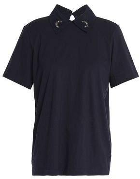 Markus Lupfer Embellished Cotton-Jersey Shirt