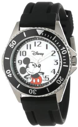 EWatchFactory Disney Men's W000507 Mickey Mouse Honor Rubber Strap Watch