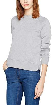 Only Women's onlLOTUS LS O-Neck NOOS Sweatshirt, Off- (Oatmeal)