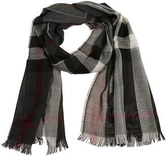 Burberry Checked Scarf