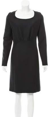 Philosophy di Alberta Ferretti Long Sleeve Knee-Length Dress w/ Tags