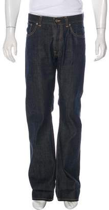 Nudie Jeans Five-Pocket Straight-Leg Jeans