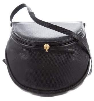 Bottega Veneta Textured Leather Crossbody Bag