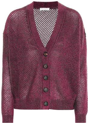 Brunello Cucinelli Mohair and wool-blend cardigan