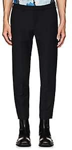 Off-White MEN'S STRETCH COTTON-BLEND CHINO SKINNY TROUSERS-BLACK SIZE 28