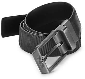 Kenneth Cole Reaction Reversible Textured Faux Leather Belt