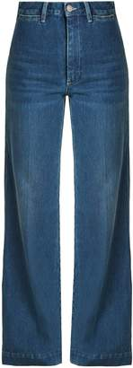 MiH Jeans X Golborne Road Bay high-rise flared jeans