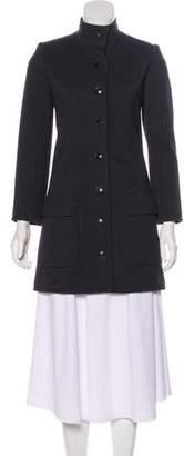 Saint Laurent Vintage Single-Breasted Coat