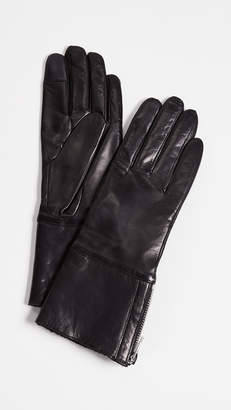 Carolina Amato Tech Leather Gloves
