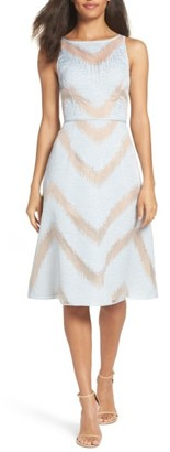 Women's Adrianna Papell Jacquard Midi Dress $189 thestylecure.com