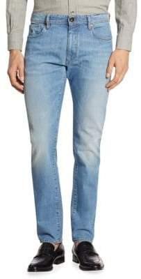 Luciano Barbera Medium Denim Wash Jeans