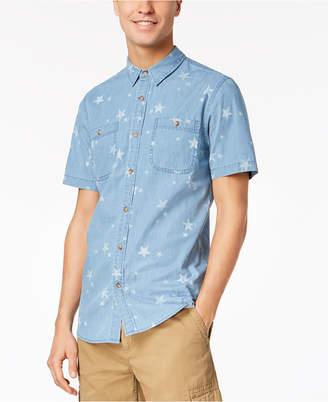 American Rag Men's Star Print Pocket Shirt, Created for Macy's