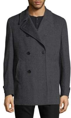 Corneliani Herringbone Topcoat
