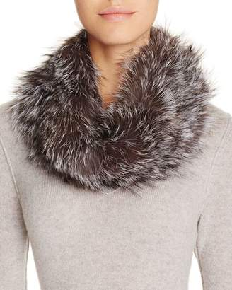 Surell Fox Fur Infinity Loop Scarf