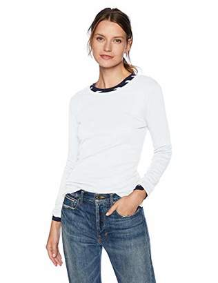 J.Crew Mercantile Women's Long Sleeve Cotton Crewneck T-Shirt, XXS