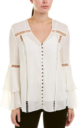 Haute Hippie Golden Hour Silk Top