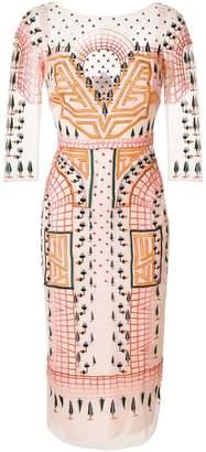 Temperley London Maze midi dress