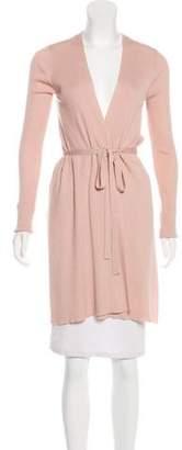 Diane von Furstenberg Wool Asymmetrical Cardigan