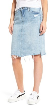 Women's Blanknyc Denim Skirt $88 thestylecure.com