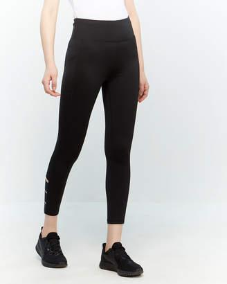 DKNY Black Cutout Leggings