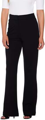 Shape Fx Fly Front Ponte Knit Bootcut Pants