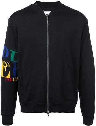 Iceberg zip-up logo jacket