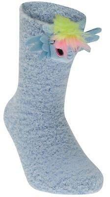 Character Kids Fluffy Socks Soft Fleece Construction Casual Accessories