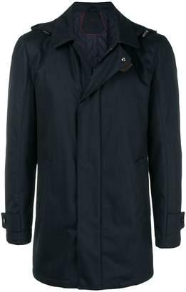 Corneliani zip-up raincoat