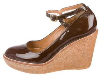 Castaner Patent Leather Wedges