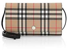 Burberry Women's Hannah Vintage Check Crossbody Wallet