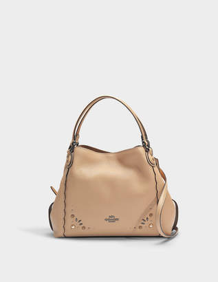 Coach Edie 28 rivets shoulder bag