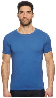 BOSS ORANGE Troy Short Sleeve Acid Wash Crew Men's Short Sleeve Pullover